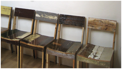 Piet Hein waste scrap wood
