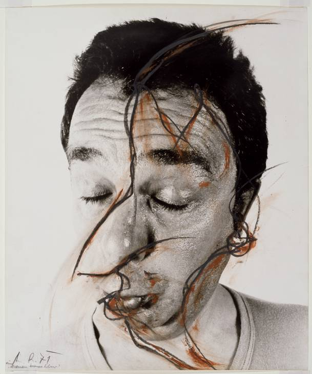 Arnulf rainer wewastetime for Farcical related forms