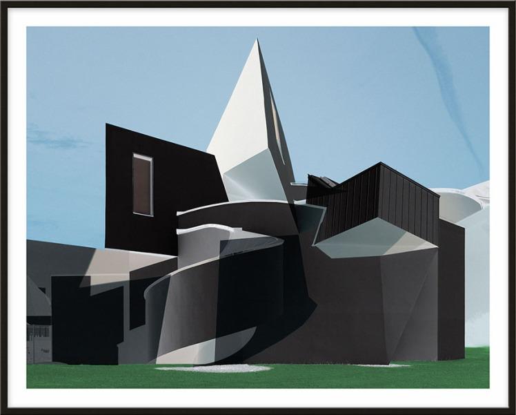 Roland Fischer House of Cubes, Frank Gehry