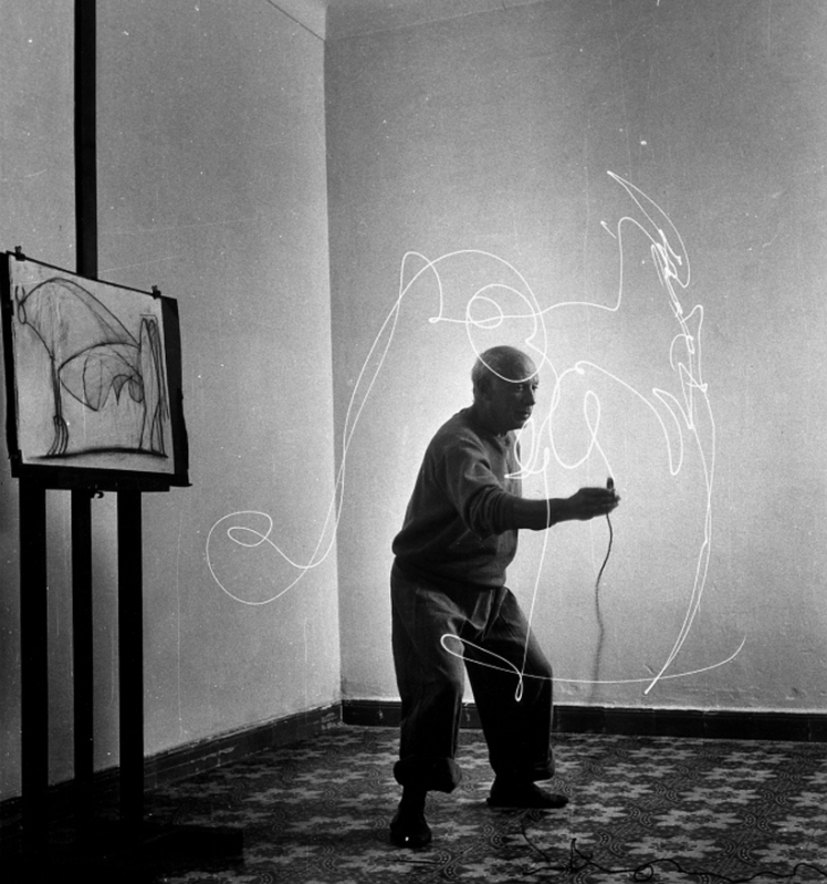 picasso light drawings 1949 b