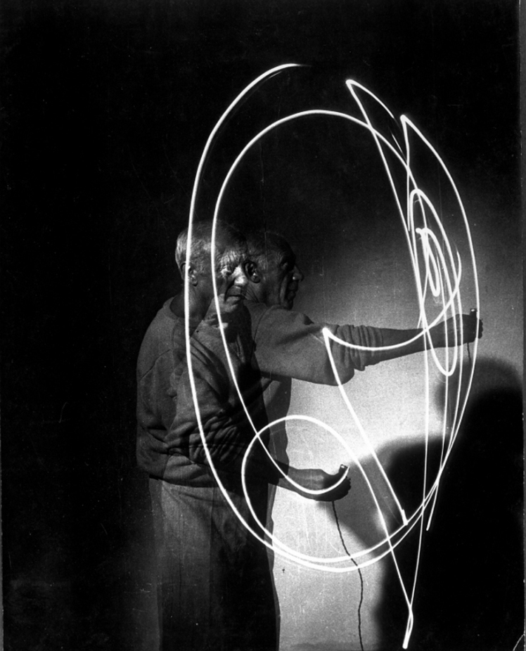 picasso light drawings 1949 a