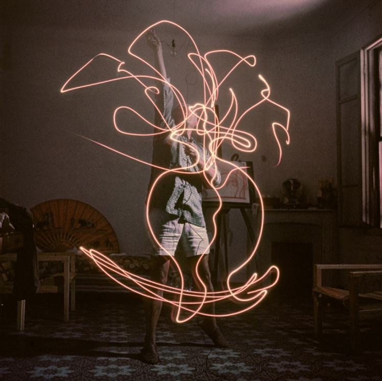 picasso light drawings 1949 e