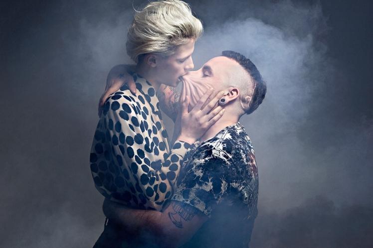Laetitia Bica kiss
