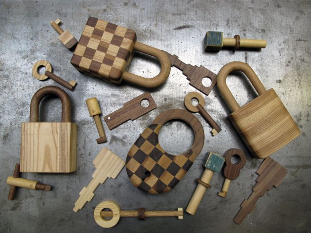 Hendzel + Hunt wooden_keys