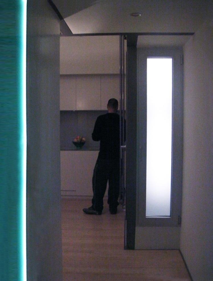 werner maritsas house a corridor-11