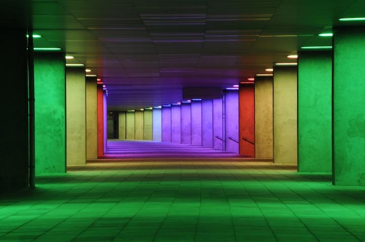 Rainbow Passage Peter Struycken Wewastetime