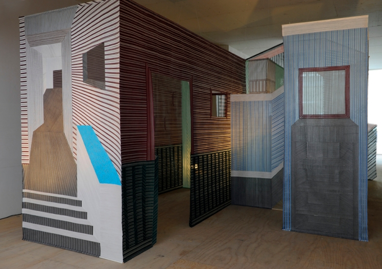 Woven room by Wies Preijde 1