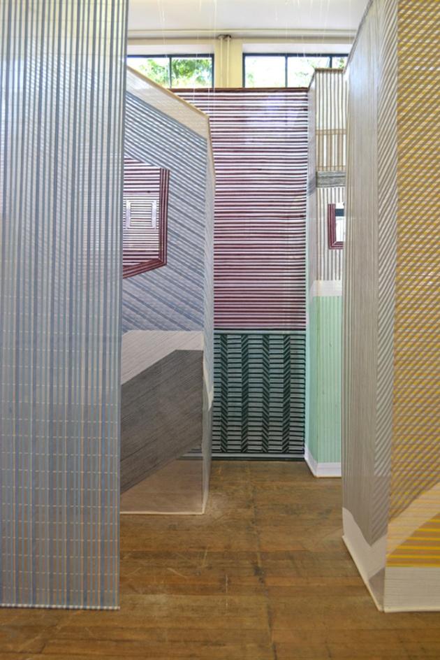 Woven room by Wies Preijde 4