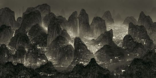 Yang Yongliang moonlight 1