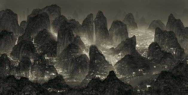 Yang Yongliang moonlight 1