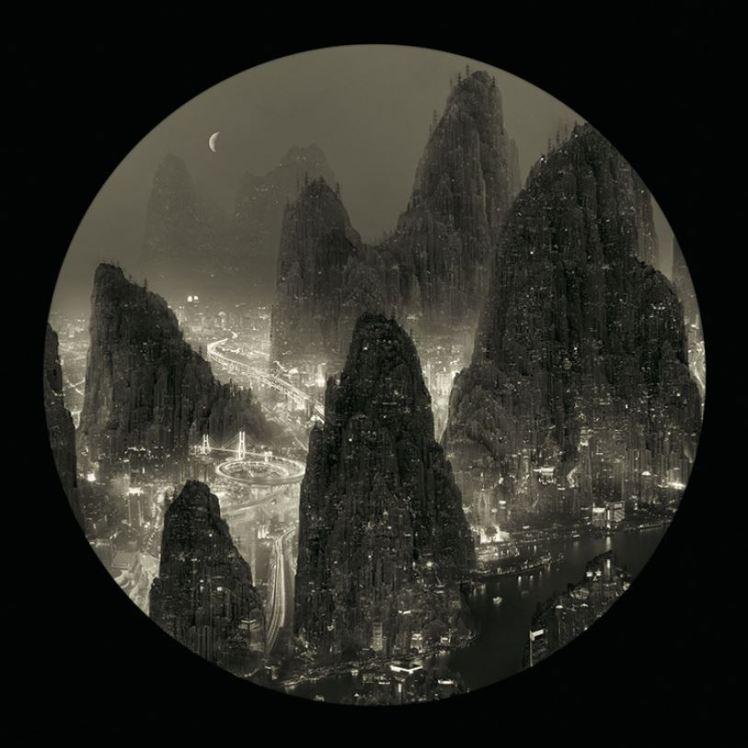 Yang Yongliang moonlight 4