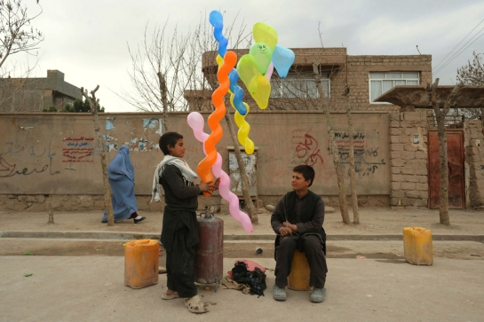 balloon sellers afgan