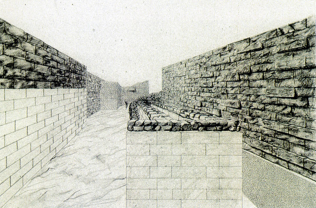 christos papoulias proposal on acropolis museum interior