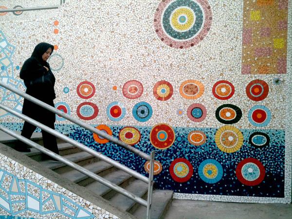 Mehdi Ghadyanloo Valiasr Stairs 2