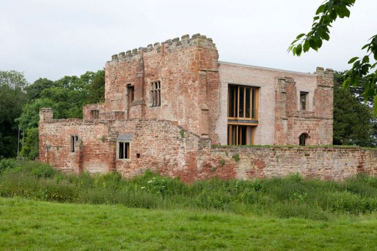the Astley Castle renovation  1