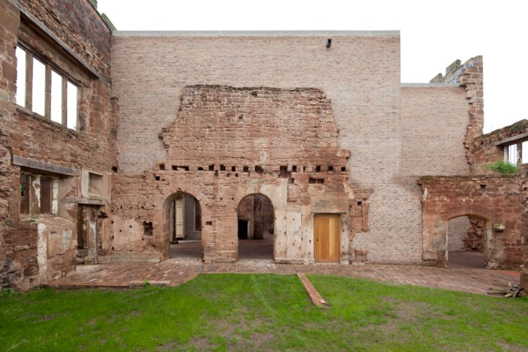 the Astley Castle renovation  4