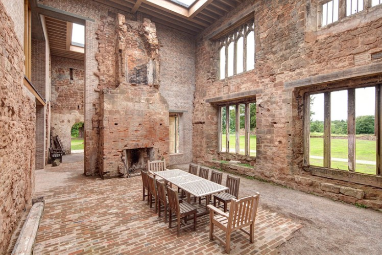 the Astley Castle renovation  5