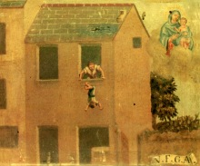 9.+Child+falls+from+a+window.+Nineteenth+century