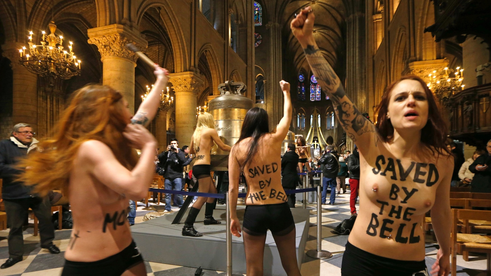nude notre dame girls