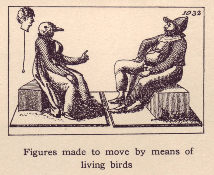 Figures-made-to-move-by-means-of-living-birds