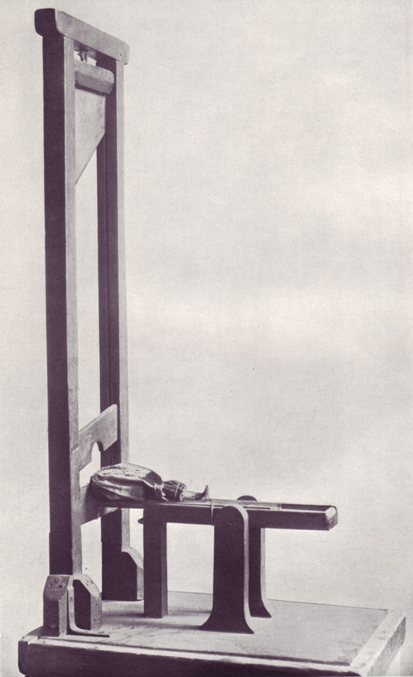 Guillotine toy-French revolution