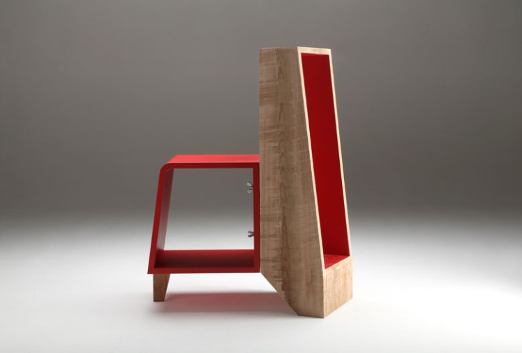 Jean-Jean shelving unit by Numéro 111