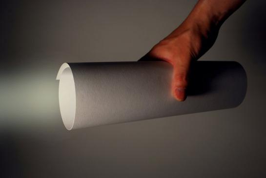 kazuhiro yamanaka paper-LED-torch-light 1