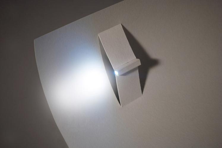 kazuhiro yamanaka paper-LED-torch-light 2