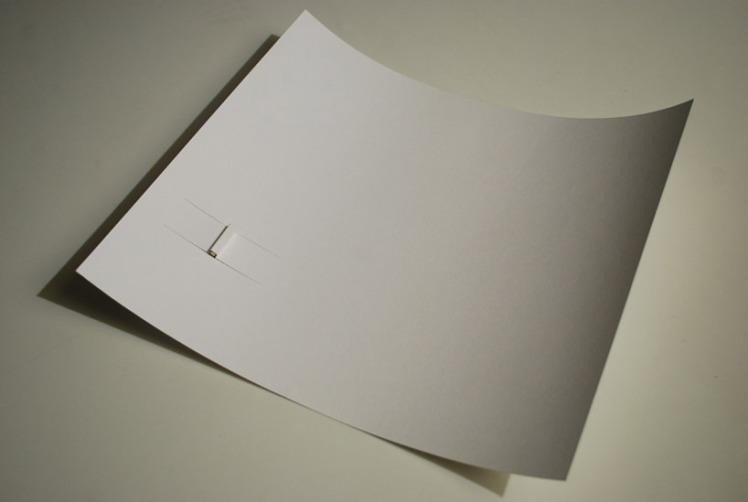 kazuhiro yamanaka paper-LED-torch-light 3
