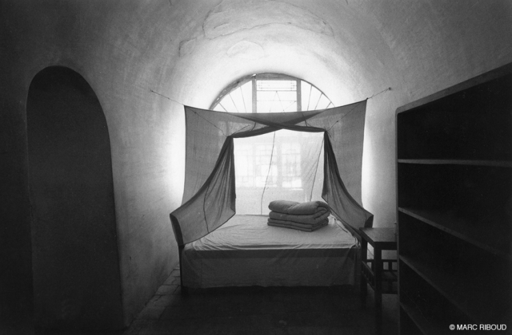 Marc Riboud bed of mao