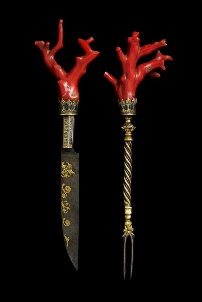 Venetian Knife and Fork