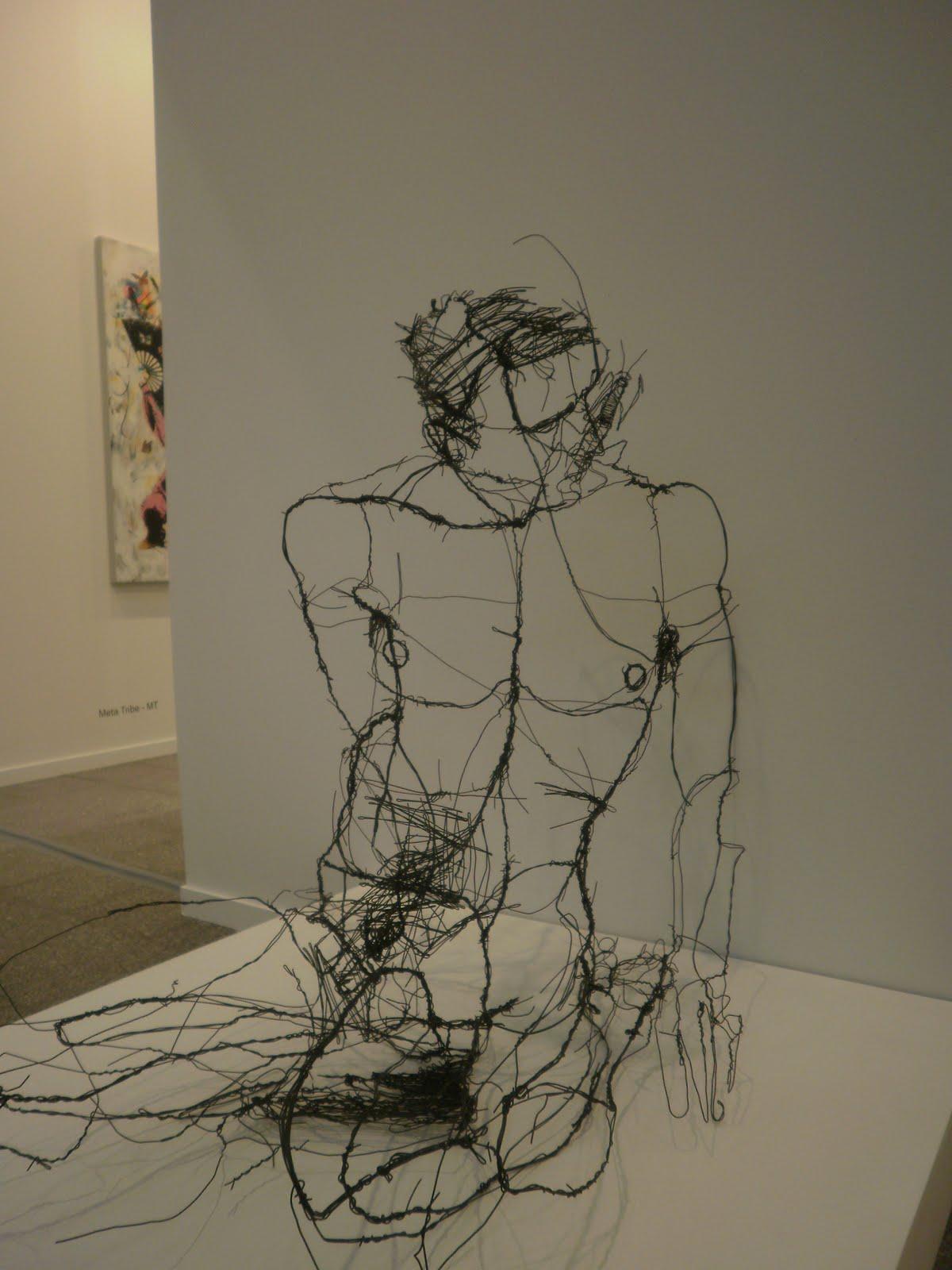 Wire sculptures / David Oliveira – wewastetime