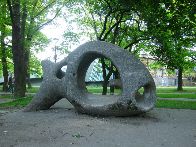 fish sculpture by Vladimira Bratuz Furlan