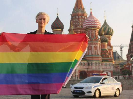 Tilda Swinton Kremlin Moscow