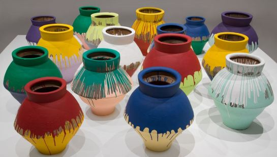 Ai Weiwei- According to What vase 1