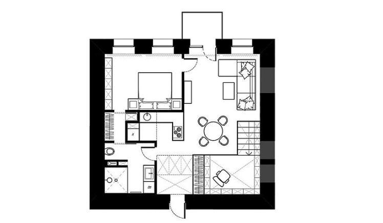 Alex Bykov studio plan