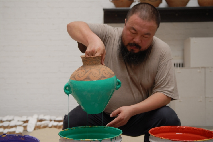 Colored_Vases Ai Weiwei