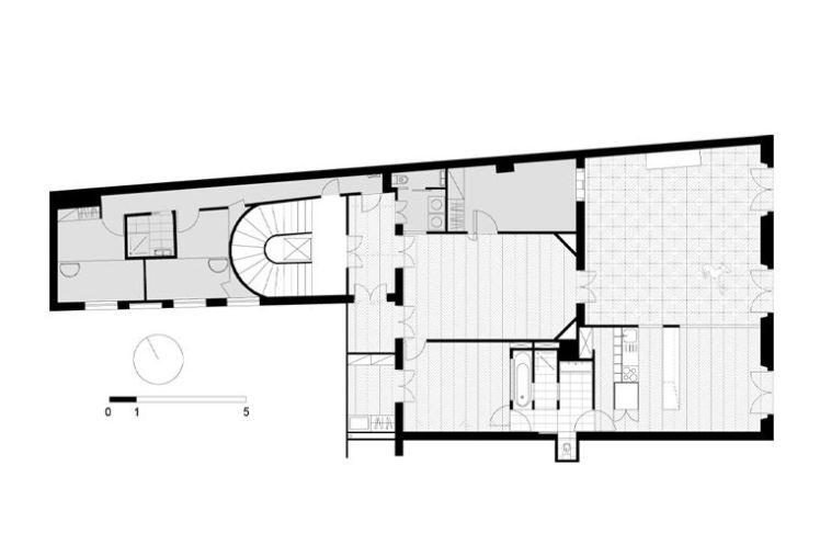 FREAKS freearchitects - napoleon flat  plan