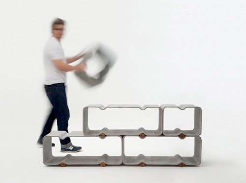 Basso Shelf Thomas Feichtner for Eternit  0