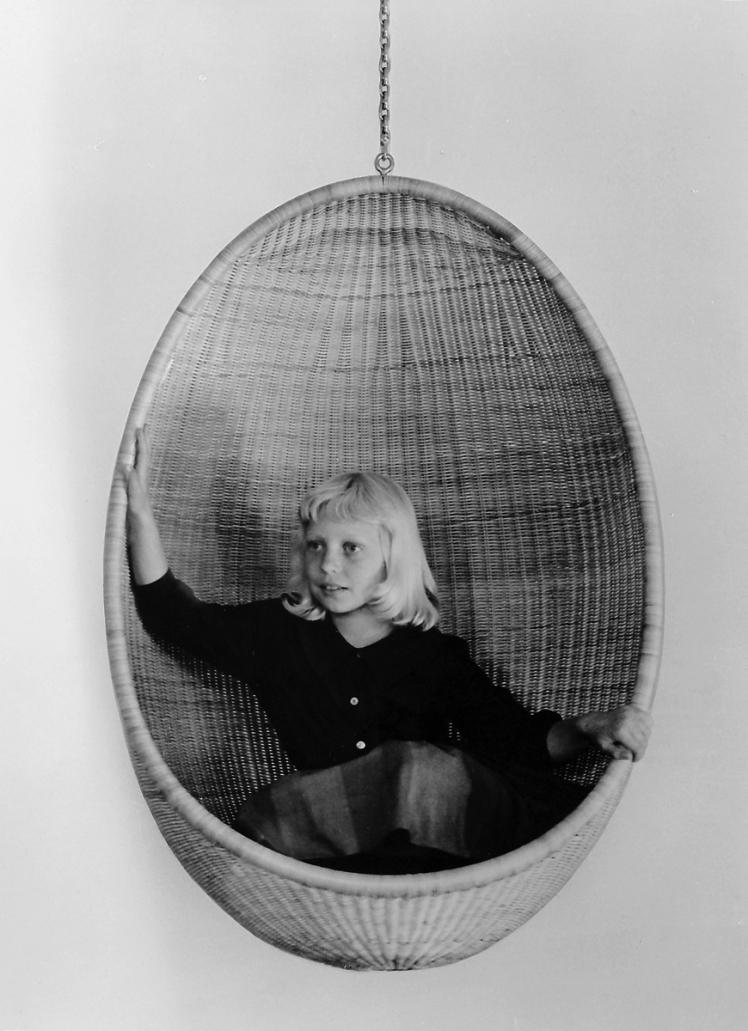 Nanna Ditzel, egg hanging chair