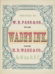 Specimens of Chromatic Wood Type Wm.Page 1874 a