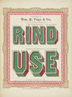 Specimens of Chromatic Wood Type Wm.Page 1874 d