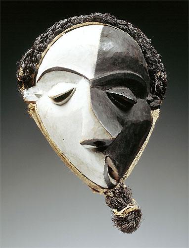 Mbangu misfortune mask congo