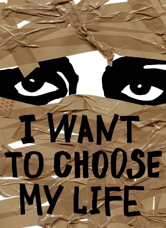 I want to choose my life Anastasiya Batashan