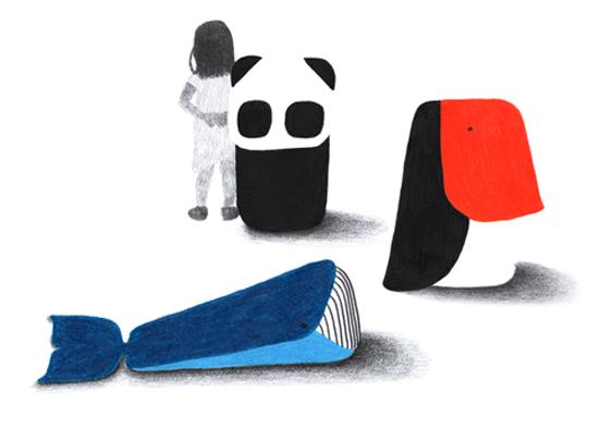 Ionna Vautrin Zoo cushions