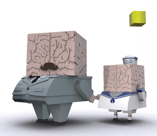 Ojofrito father son brain