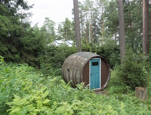 barrel shack Sweden 1