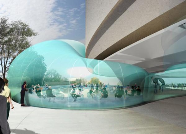 Bubble Diller Scofidio Renfro, Hirshhorn museum 2