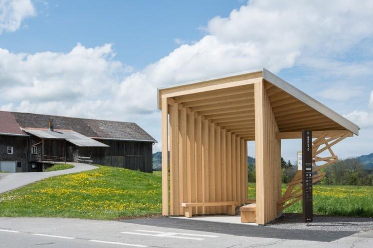 bus stops_Amateur Architecture Studio  ( Wang Shu )
