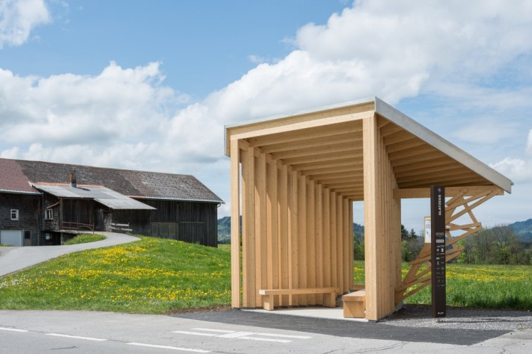bus stops_Amateur Architecture Studio  ( Wang Shu )